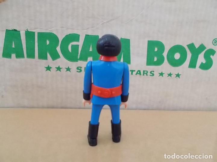 Airgam Boys: AIRGAMBOYS AIRGAM ORIGINAL AÑOS 70 BOMBERO 1 EN BUEN ESTADO NO REEDICIÓN. PTOY - Foto 2 - 171257162