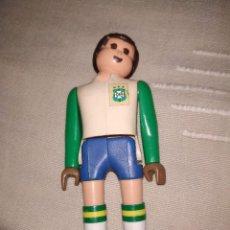 Airgam Boys: FUTBOLISTA DE BRASIL. MUÑECO AIRGAM BOYS JUGADOR DE FÚTBOL, PORTERO, DE LA SELECCIÓN BRASILEÑA.. Lote 171439185