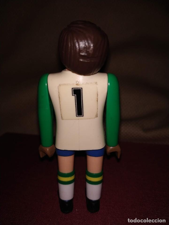 Airgam Boys: Futbolista de Brasil. Muñeco Airgam Boys jugador de fútbol, portero, de la selección brasileña. - Foto 4 - 171439185