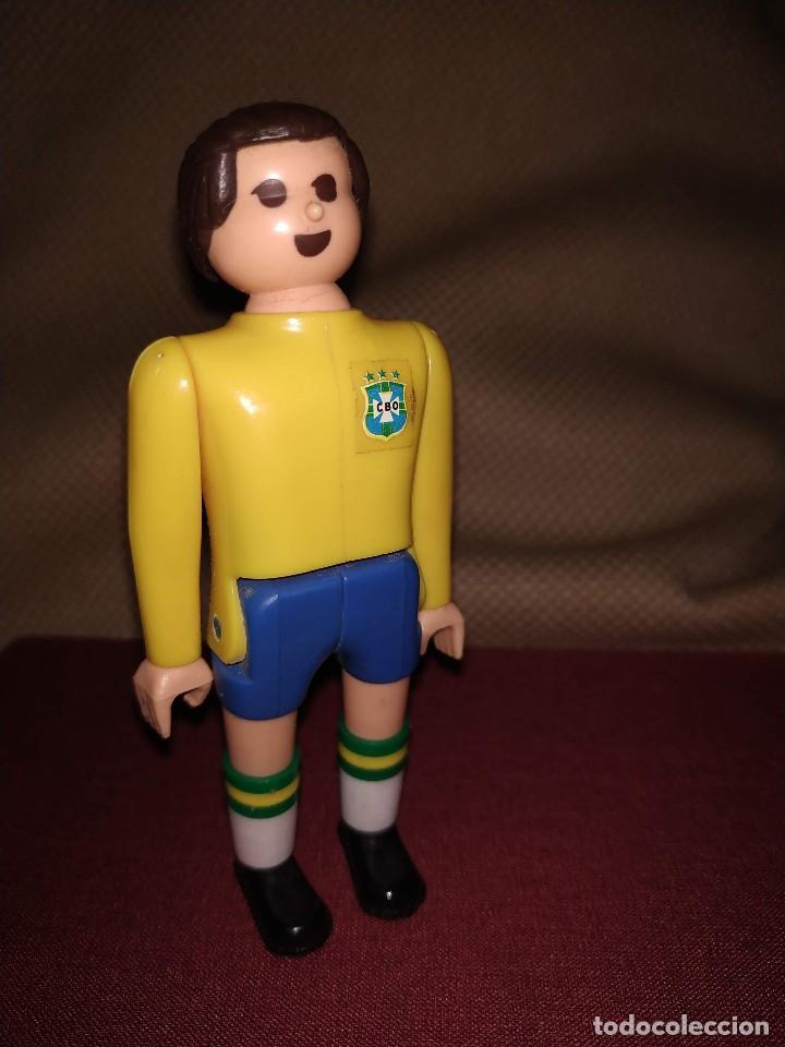 Airgam Boys: Futbolista de Brasil. Muñeco Airgam Boys jugador de fútbol de la selección brasileña. - Foto 2 - 171439658