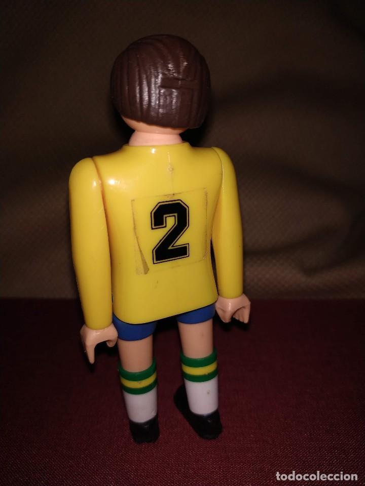 Airgam Boys: Futbolista de Brasil. Muñeco Airgam Boys jugador de fútbol de la selección brasileña. - Foto 3 - 171439658