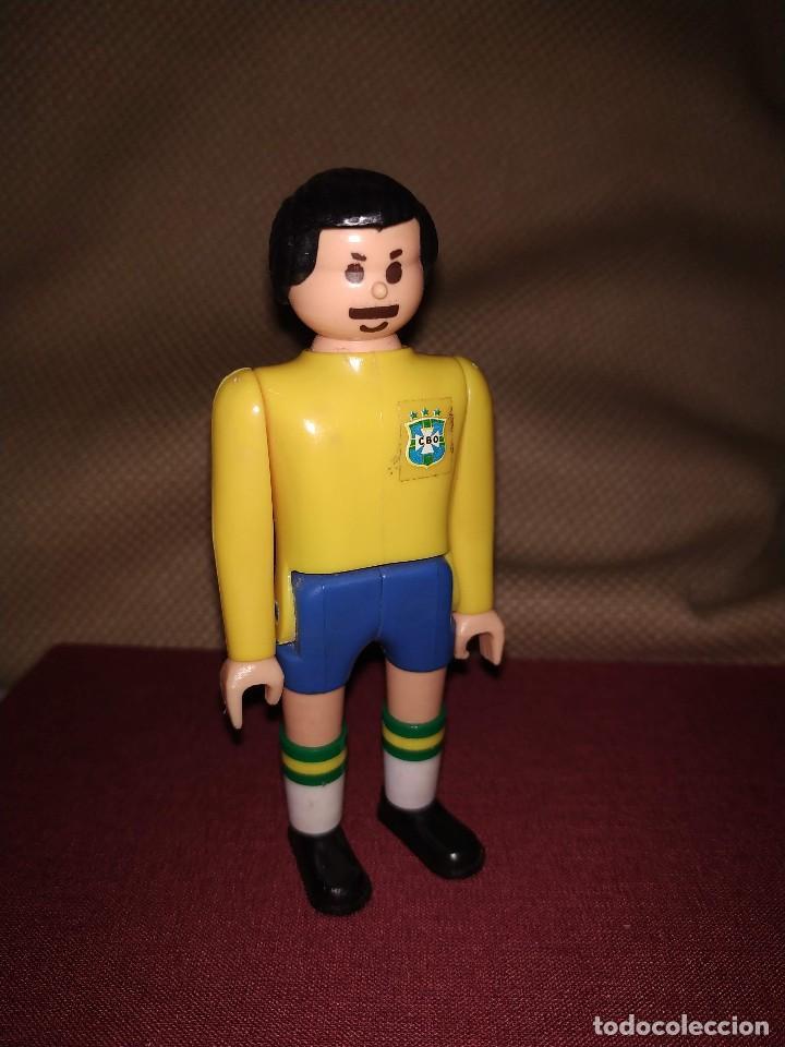 Airgam Boys: Futbolista de Brasil. Muñeco Airgam Boys jugador de fútbol de la selección brasileña. - Foto 2 - 171440092