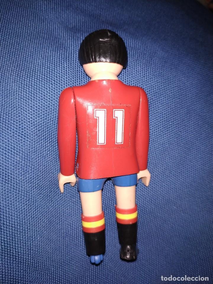 Airgam Boys: Futbolista de España. Muñeco Airgam Boys jugador de fútbol de la selección española. - Foto 2 - 171440933