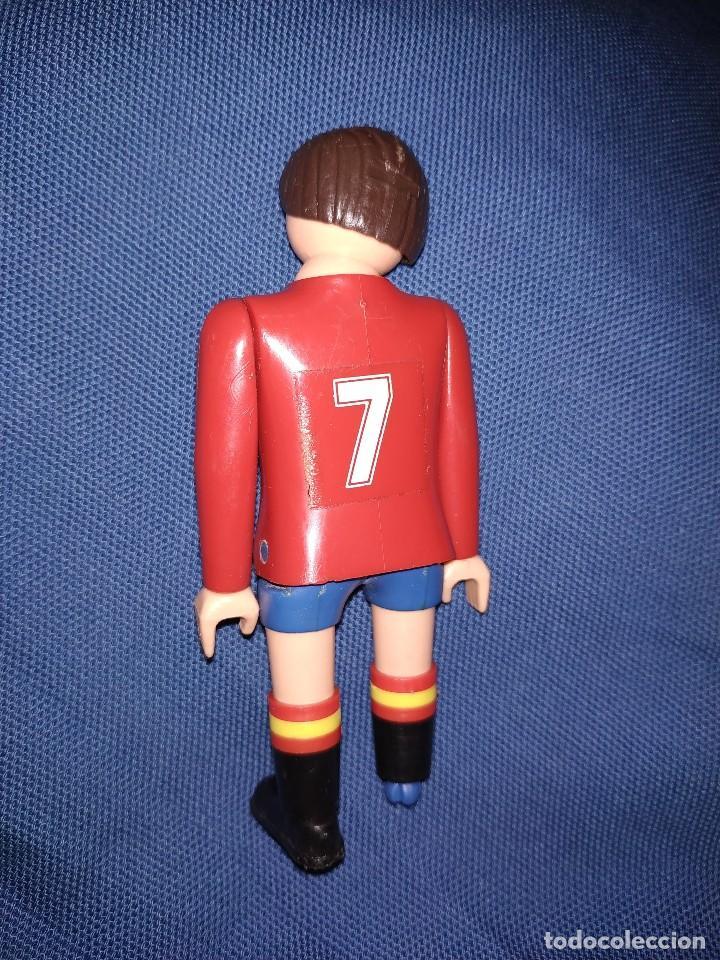 Airgam Boys: Futbolista de España. Muñeco Airgam Boys jugador de fútbol de la selección española. - Foto 2 - 171441265