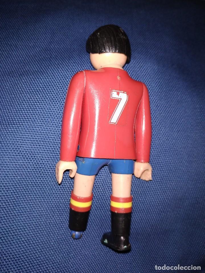 Airgam Boys: Futbolista de España. Muñeco Airgam Boys jugador de fútbol de la selección española. - Foto 2 - 171441704