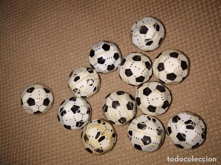 Airgam Boys: 12 balones de fútbol de los muñecos Airgam Boys. - Foto 2 - 171442119