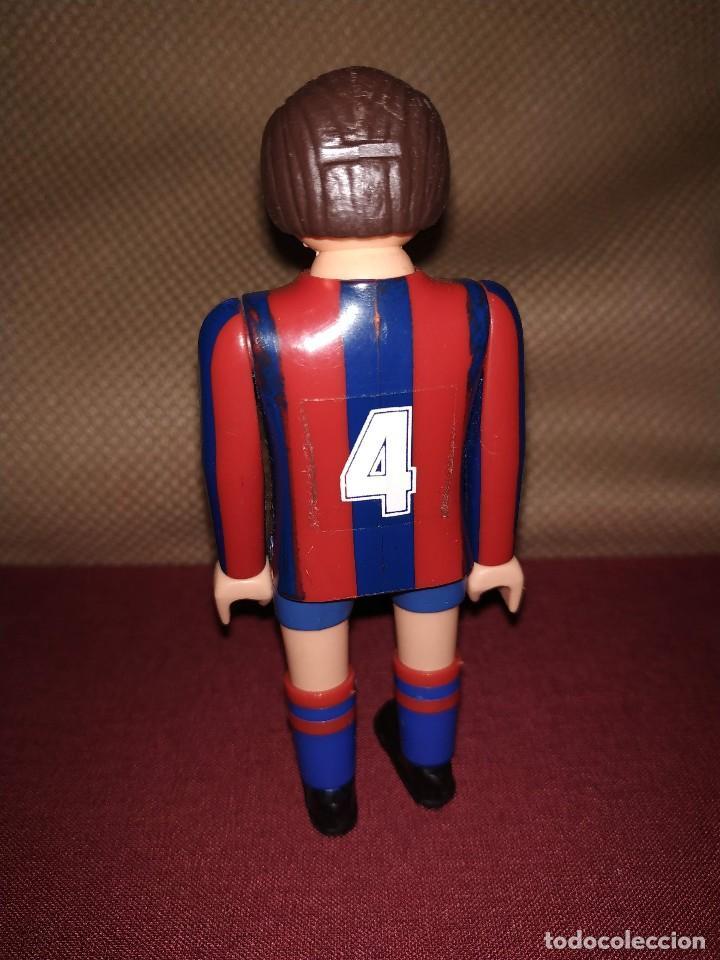 Airgam Boys: Jugador de fútbol del Barça. Muñeco futbolista de Airgam Boys. F.C. Barcelona, Blaugranas. - Foto 2 - 171443083