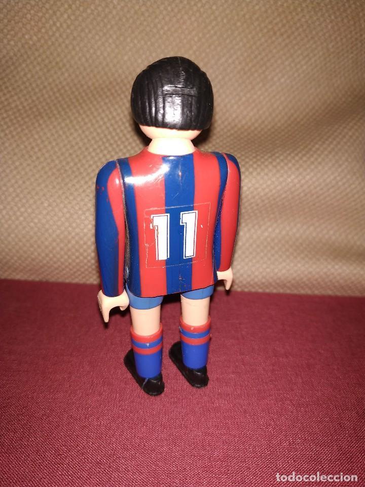 Airgam Boys: Jugador de fútbol del Barça. Muñeco futbolista de Airgam Boys. F.C. Barcelona, Blaugranas. - Foto 2 - 171443177