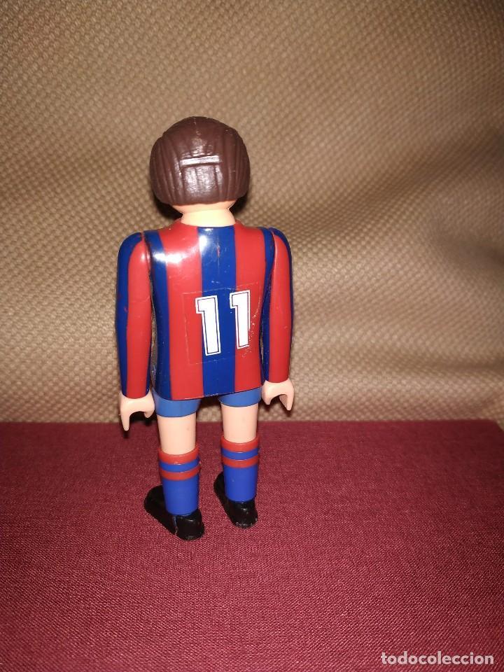 Airgam Boys: Jugador de fútbol del Barça. Muñeco futbolista de Airgam Boys. F.C. Barcelona, Blaugranas. - Foto 2 - 171443245