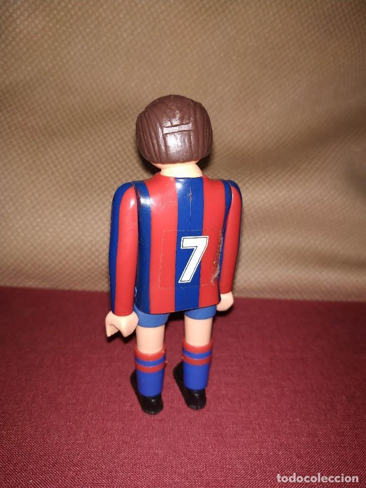 Airgam Boys: Jugador de fútbol del Barça. Muñeco futbolista de Airgam Boys. F.C. Barcelona, Blaugranas. - Foto 2 - 171443405