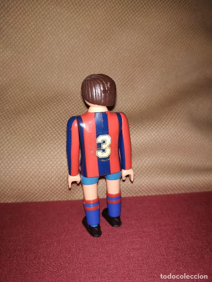 Airgam Boys: Jugador de fútbol del Barça. Muñeco futbolista de Airgam Boys. F.C. Barcelona, Blaugranas. - Foto 2 - 171443515