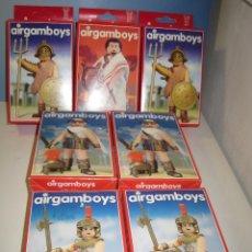 Airgam Boys: LOTE DE 7 AIRGAMBOYS SERIE ROMANOS NUEVOS EN CAJA NEW TOYS. Lote 172910044