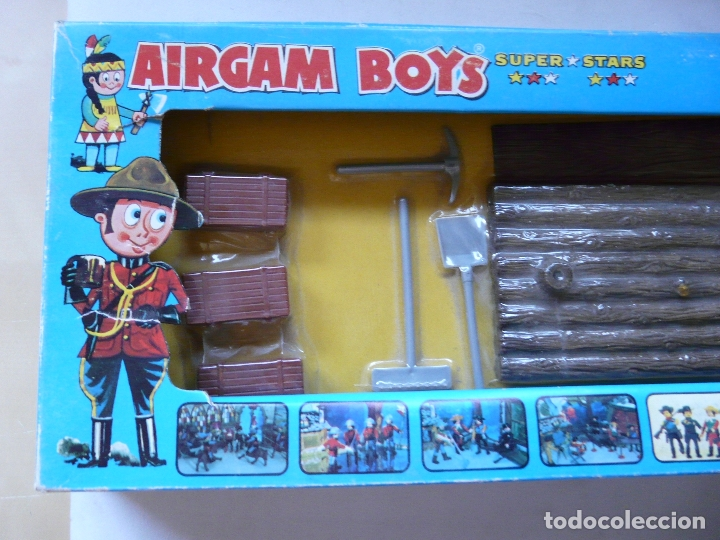 Airgam Boys: AIRGAMBOYS AIRGAM BOYS - SERIE PIRATAS - RF 00031 1976 - BALSA BANDERA TABLA HERRAMIENTAS CAJAS - Foto 2 - 173907708