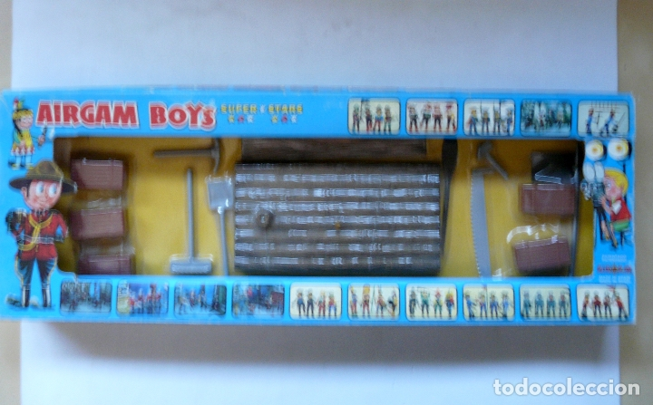 Airgam Boys: AIRGAMBOYS AIRGAM BOYS - SERIE PIRATAS - RF 00031 1976 - BALSA BANDERA TABLA HERRAMIENTAS CAJAS - Foto 3 - 173907708