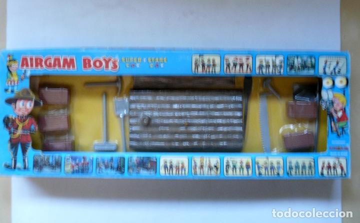 Airgam Boys: AIRGAMBOYS AIRGAM BOYS - SERIE PIRATAS - RF 00031 1976 - BALSA BANDERA TABLA HERRAMIENTAS CAJAS - Foto 3 - 173907708