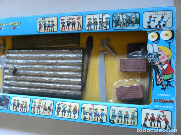 Airgam Boys: AIRGAMBOYS AIRGAM BOYS - SERIE PIRATAS - RF 00031 1976 - BALSA BANDERA TABLA HERRAMIENTAS CAJAS - Foto 4 - 173907708