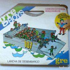 Airgam Boys: GRE BOYS EMBARCACIONES HINCHABLES - LANCHA DE DESMBARCO NAVY 10-C4 - NUEVA - A ESTRENAR. Lote 173908064