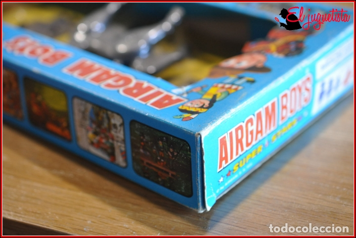 Airgam Boys: HOLKANK - AIRGAM BOYS AIRGAMBOYS - CAJA BURROS CABALLOS VALLAS RODEO 00021 RAREZA!! - Foto 9 - 175538323