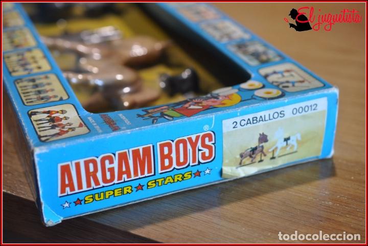 Airgam Boys: HOLKANK - AIRGAM BOYS AIRGAMBOYS - CAJA BURROS CABALLOS VALLAS RODEO 00021 RAREZA!! - Foto 13 - 175538323
