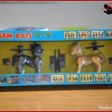 Airgam Boys: HOLKANK - AIRGAM BOYS AIRGAMBOYS - CAJA BURROS CABALLOS VALLAS RODEO 00021 RAREZA!!. Lote 175538323