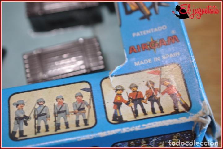 Airgam Boys: HOLKANK - AIRGAM BOYS AIRGAMBOYS - CAJA BALSA PIRATAS HERRAMIENTAS PASARELA 00031 RAREZA!! - Foto 6 - 175539977