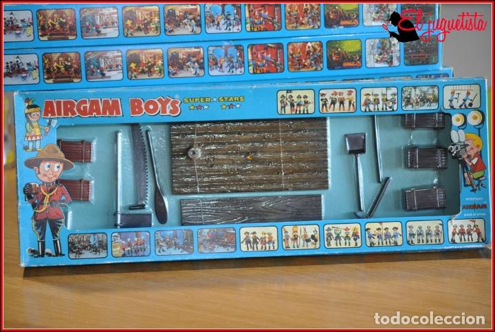 HOLKANK - AIRGAM BOYS AIRGAMBOYS - CAJA BALSA PIRATAS HERRAMIENTAS PASARELA 00031 RAREZA!! (Juguetes - Figuras de Acción - Airgam Boys)