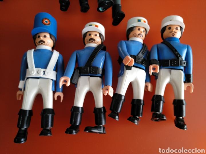 Airgam Boys: LOTE DE 20 MUÑECOS AIRGAMBOYS Y COMPLEMENTOS, ORIGINALES DE LOS AÑOS 70.- 80. - Foto 12 - 175857234