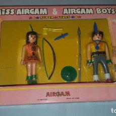 Airgam Boys: MISS AIRGAM Y AIRGAM BOYS INDIOS, REF 02211. Lote 176592355