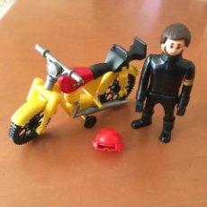 Airgam Boys: MOTO Y MUÑECO MOTORISTA AIRGAM AIRGAMBOYS. Lote 176668682