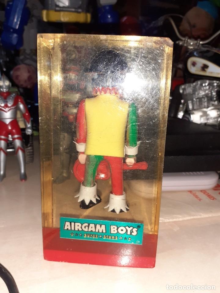 Airgam Boys: Airgam Boys Super Stars.Figura clown publicitaria en metacrilato.Tiendas años 70. - Foto 3 - 181329177