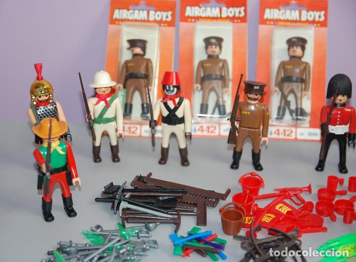 Airgam Boys: Superlotazo 2 Airgamboys: Airgam boys, Armas, Sombreros, Banderas, Blísters, Porteador, capas.... - Foto 7 - 182962171