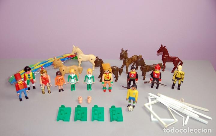 SUPERLOTAZO 3 AIRGAMBOYS: AIRGAM BOYS, ARMAS, SOMBREROS, CABALLOS-BURROS, PIEZAS PORTERÍA, BALÓN.... (Juguetes - Figuras de Acción - Airgam Boys)