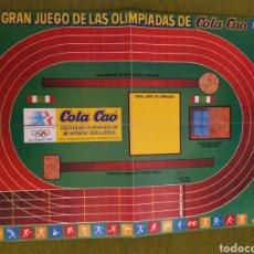 Airgam Boys: TABLERO OLIMPIADAS LOS ÁNGELES 84 DE COLA CAO. MINI AIRGAM BOYS. Lote 183962782