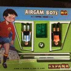 Airgam Boys: AIRGAM BOYS ORIGINAL MUNDIAL 82 - JUGADOR ARGENTINO Y PORTERO ESPAÑOL CON BALÓN Y PORTERÍA. Lote 183727998