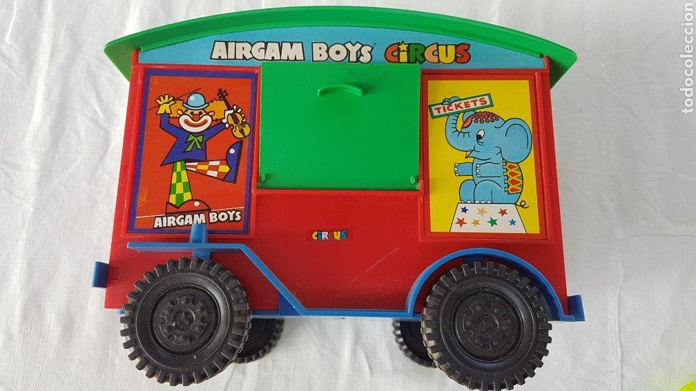 CARROZA AIRGAM BOYS CIRCUS W (Juguetes - Figuras de Acción - Airgam Boys)