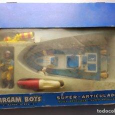 Airgam Boys: AIRGAM BOYS COMICS SÚPER ARTICULADOS EN CAJA ORIGINAL MUY DIFICIL. Lote 188427577