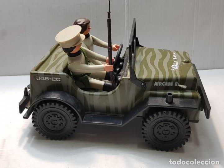 Airgam Boys: Airgam Boys Jeep Japonés con Soldados muy escaso - Foto 2 - 189837471