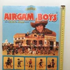 Airgam Boys: AIRGAM BOYS CARTEL PUBLICITARIO DE 32X43 CMS. Lote 189900177