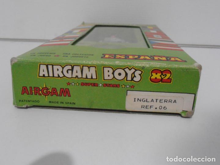 Airgam Boys: AIRGAM BOYS FUTBOLISTA EN CAJA ORIGINAL SIN JUGAR, INGLATERRA REF 06, AIRGAMBOYS, MADE IN SPAIN - Foto 2 - 190736366