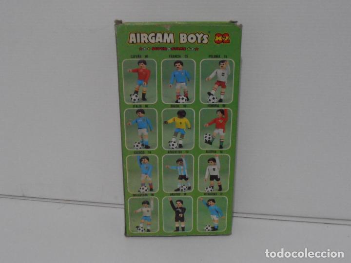 Airgam Boys: AIRGAM BOYS FUTBOLISTA EN CAJA ORIGINAL SIN JUGAR, INGLATERRA REF 06, AIRGAMBOYS, MADE IN SPAIN - Foto 3 - 190736366