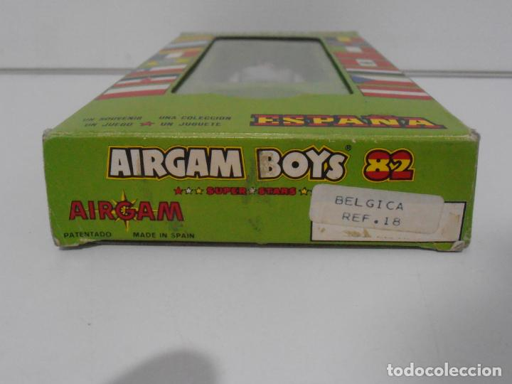 Airgam Boys: AIRGAM BOYS FUTBOLISTA EN CAJA ORIGINAL SIN JUGAR, BELGICA REF 18, AIRGAMBOYS, MADE IN SPAIN - Foto 2 - 190736678