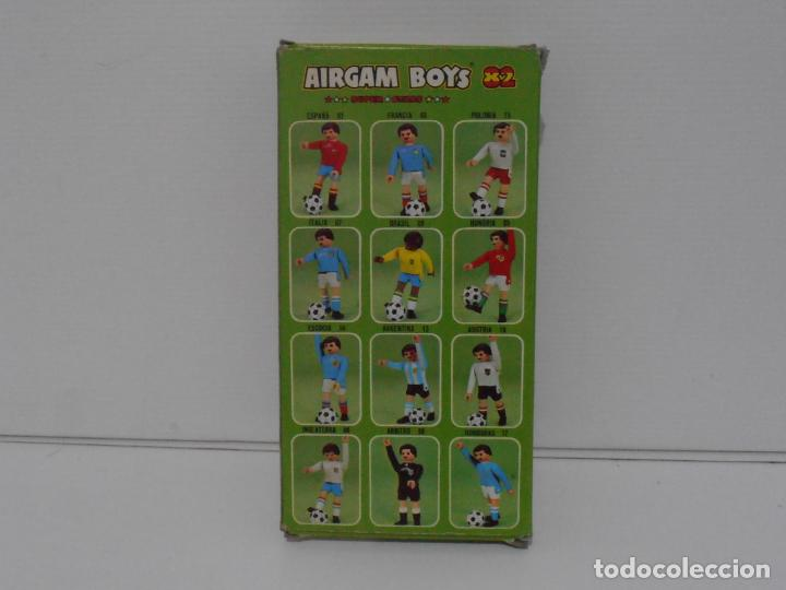 Airgam Boys: AIRGAM BOYS FUTBOLISTA EN CAJA ORIGINAL SIN JUGAR, BELGICA REF 18, AIRGAMBOYS, MADE IN SPAIN - Foto 3 - 190736678