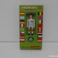 Airgam Boys: AIRGAM BOYS FUTBOLISTA EN CAJA ORIGINAL SIN JUGAR, BELGICA REF 18, AIRGAMBOYS, MADE IN SPAIN. Lote 190736678