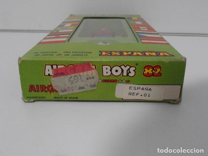 Airgam Boys: AIRGAM BOYS FUTBOLISTA EN CAJA ORIGINAL SIN JUGAR, ESPAÑA REF 01, AIRGAMBOYS, MADE IN SPAIN - Foto 2 - 190736801
