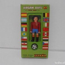 Airgam Boys: AIRGAM BOYS FUTBOLISTA EN CAJA ORIGINAL SIN JUGAR, ESPAÑA REF 01, AIRGAMBOYS, MADE IN SPAIN. Lote 190736801