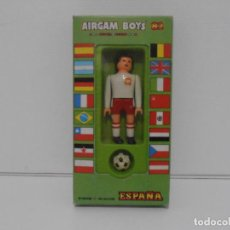 Airgam Boys: AIRGAM BOYS FUTBOLISTA EN CAJA ORIGINAL SIN JUGAR, POLONIA REF 15, AIRGAMBOYS, MADE IN SPAIN. Lote 190737266
