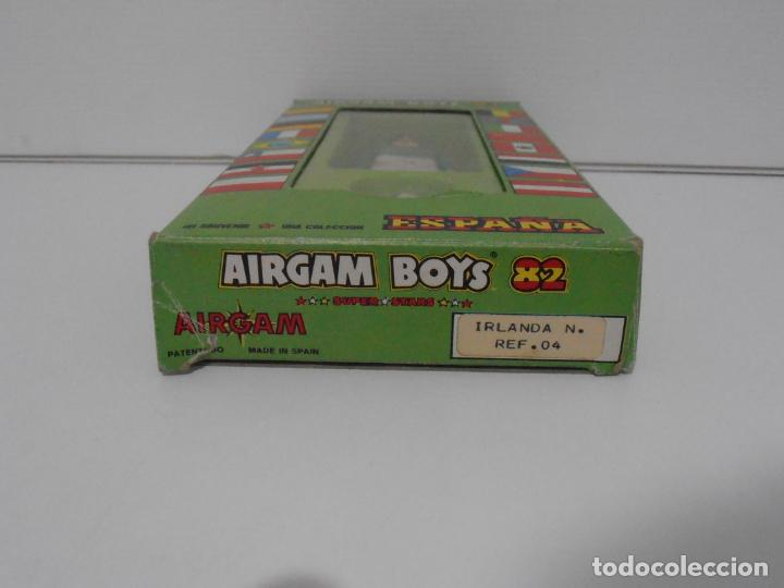 Airgam Boys: AIRGAM BOYS FUTBOLISTA EN CAJA ORIGINAL SIN JUGAR, IRLANDA REF 04, AIRGAMBOYS, MADE IN SPAIN - Foto 2 - 190737395