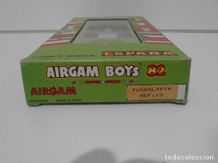 Airgam Boys: AIRGAM BOYS FUTBOLISTA EN CAJA ORIGINAL SIN JUGAR, YUGOSLAVIA REF 10, AIRGAMBOYS, MADE IN SPAIN - Foto 2 - 190737603
