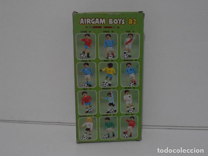 Airgam Boys: AIRGAM BOYS FUTBOLISTA EN CAJA ORIGINAL SIN JUGAR, YUGOSLAVIA REF 10, AIRGAMBOYS, MADE IN SPAIN - Foto 3 - 190737603