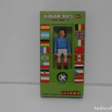Airgam Boys: AIRGAM BOYS FUTBOLISTA EN CAJA ORIGINAL SIN JUGAR, YUGOSLAVIA REF 10, AIRGAMBOYS, MADE IN SPAIN. Lote 190737603